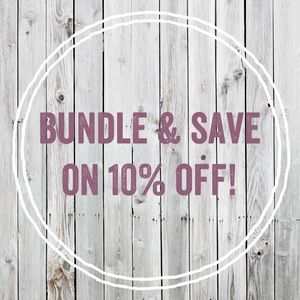 Other - Bundle & save on 10% off ALL items! 🤩